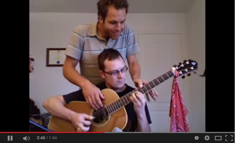 jerrys breakdown 4 handen 1 gitaar www gitaarvanhout nl
